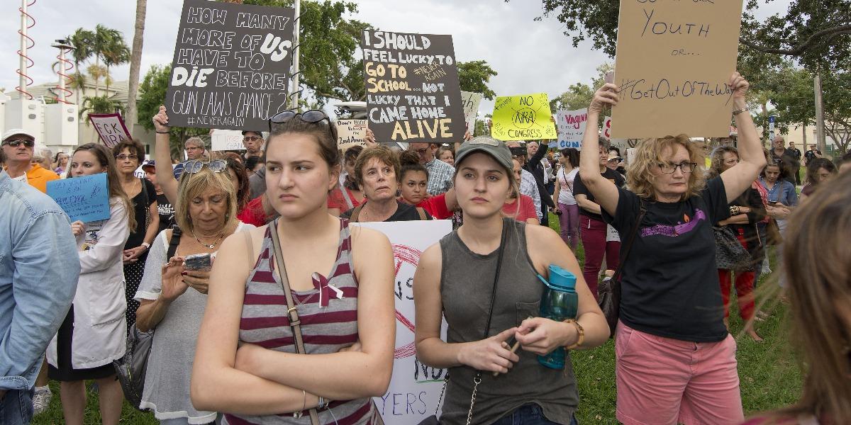 Parkland, gun control, protest