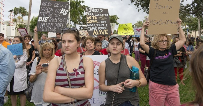 New poll shows that millennials are no more liberal on gun control than older generations