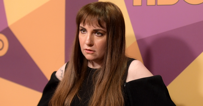 Actress Lena Dunham shared some emotionally raw news about her health