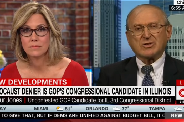 "ICYMI: CNN's Alisyn Camerota to Illinois Congressional candidate Arthur Jones: ""You're a Nazi."""