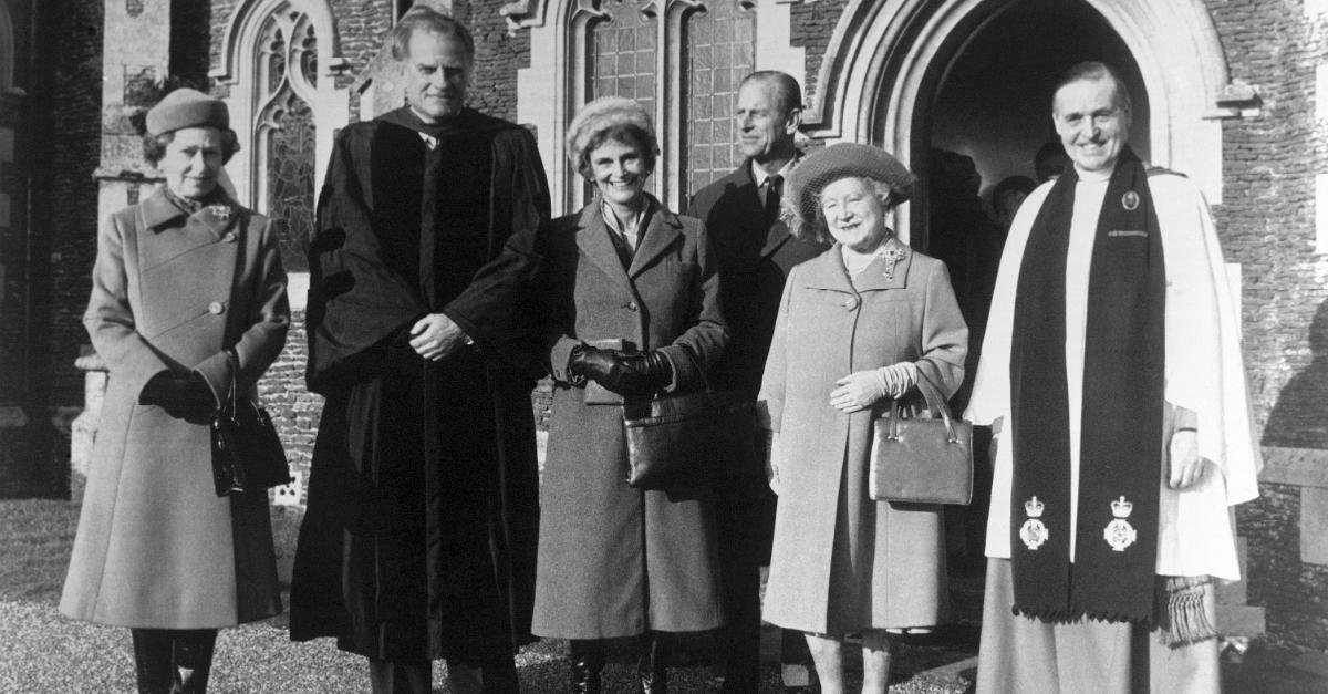 Billy Graham Queen Elizabeth The Crown