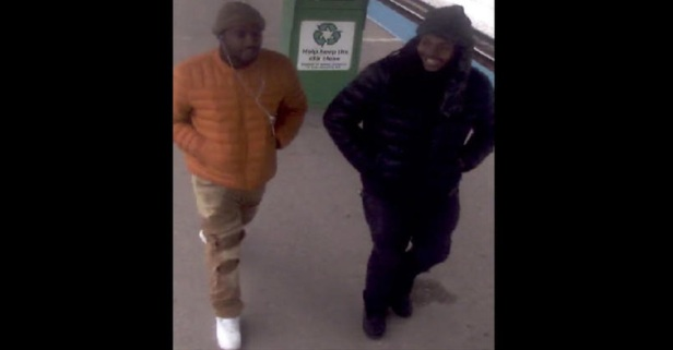 Police release photo of two suspects who attacked a man in a wheelchair at a Blue Line stop last month