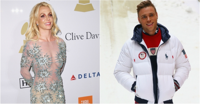 "Gus Kenworthy said ""Gimme More"" is his competition song — and Britney Spears just responded"