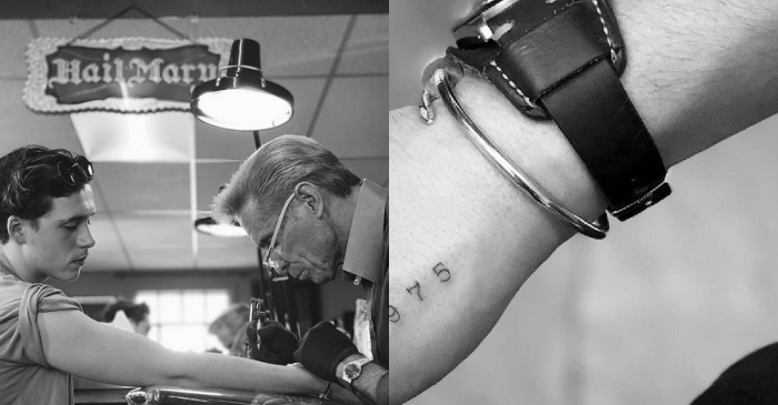 David Beckham's son Brooklyn gets a permanent tribute to his dad