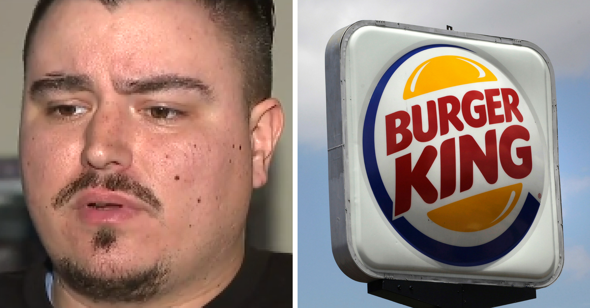 Burger King allegedly plays sex scene