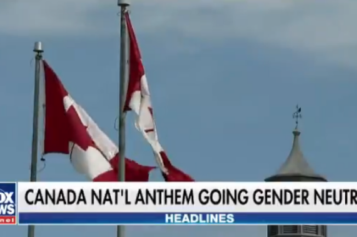 Canada's national anthem got the PC treatment, and Fox News can't stop laughing