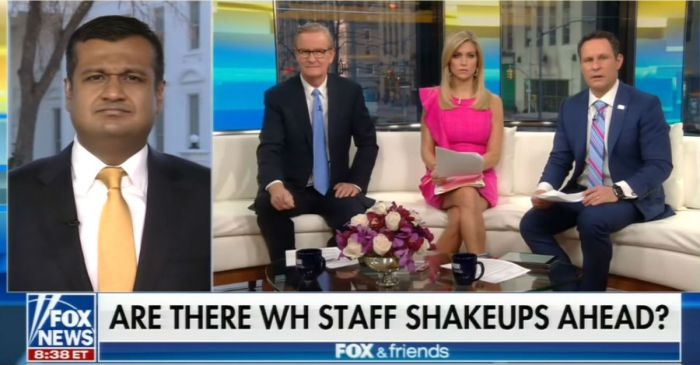 """Fox & Friends"" took an unexpected shot at the White House: ""You got burned"""
