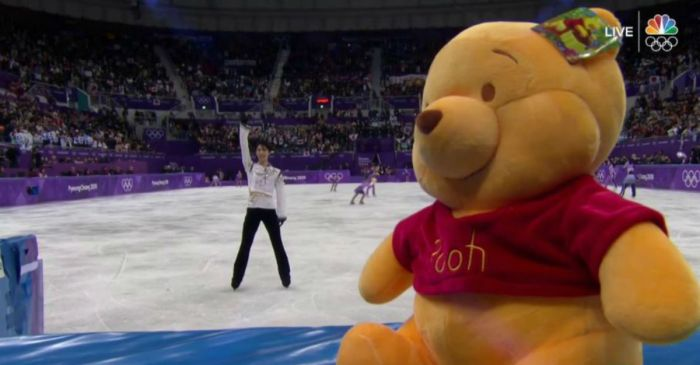 Winnie The Pooh is now trending online, all thanks to the Olympics