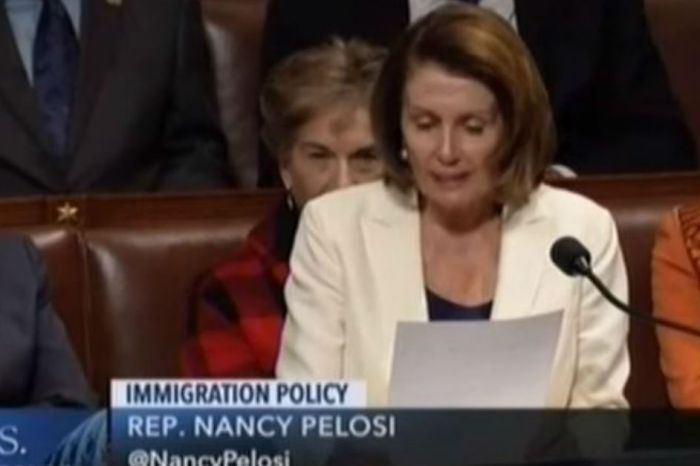 At least one sleepy-eyed Democrat wasn't excited by Nancy Pelosi's 8-hour speech