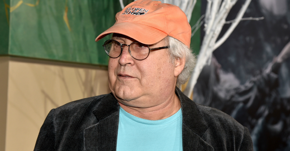 Chevy Chase involved in road rage incident