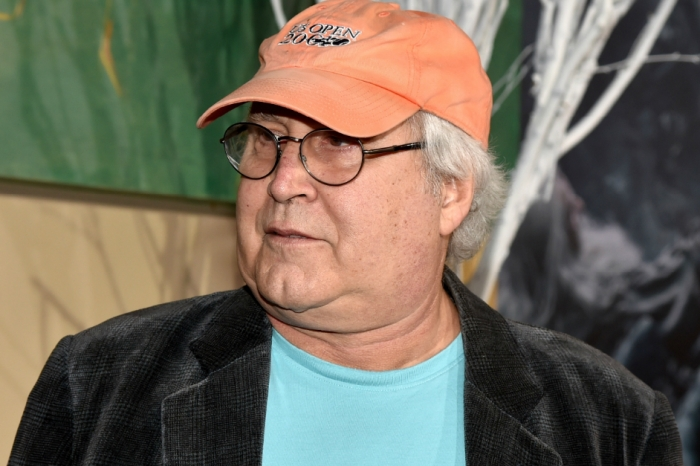Chevy Chase claims he ended up on the ground after a road rage altercation