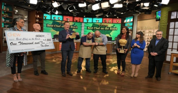 Houston chef Alex Padilla really served it up on ABC's 'The Chew,' cleaning the other contestants' plates
