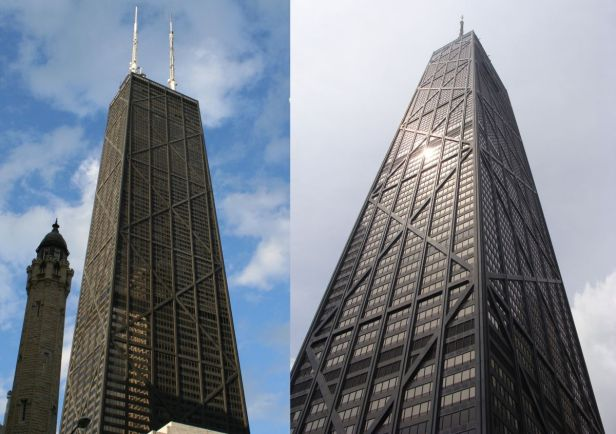 It looks like the John Hancock Center is definitely changing names