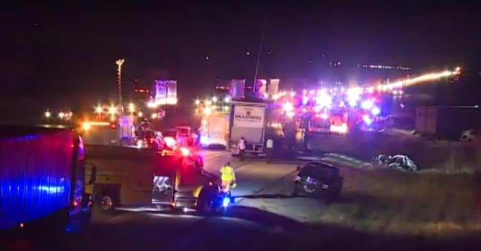 Fatal I-55 crash on Cicero ramp kills one, injures three