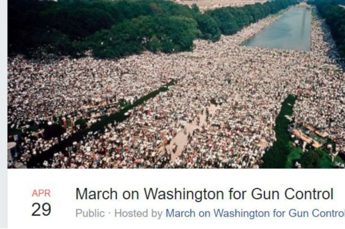 A second March on DC for gun control was started, and many see sinister motives