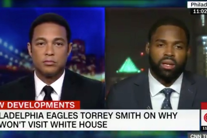 "Eagles player goes on CNN to declare Kaepernick a ""legend,"" while leaving Trump out in the cold"