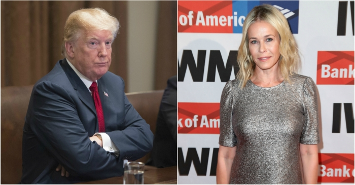 """Chelsea Handler says President Trump is""""mentally disturbed"""" hours after she blamed the GOP for the Florida shooting"""