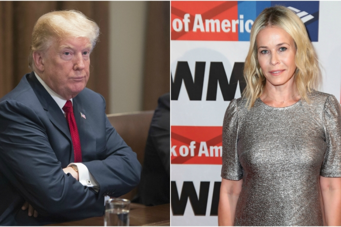 "Chelsea Handler says President Trump is ""mentally disturbed"" hours after she blamed the GOP for the Florida shooting"
