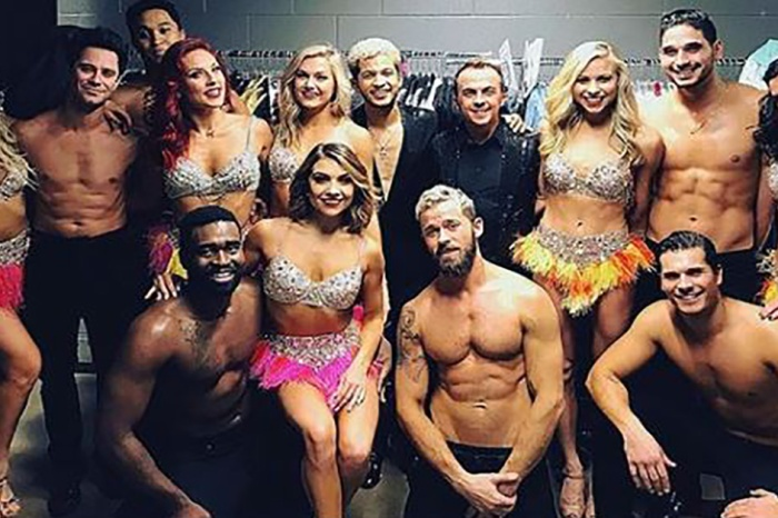 "The cast and crew of ""DWTS: Live!"" were caught in a harrowing multi-car accident"