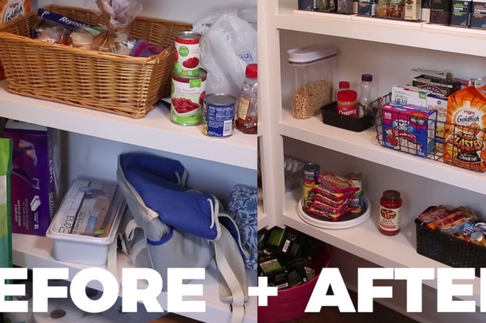 "In just 3 simple steps, I transformed my pantry from a ""nightmare"" to a place of calm"