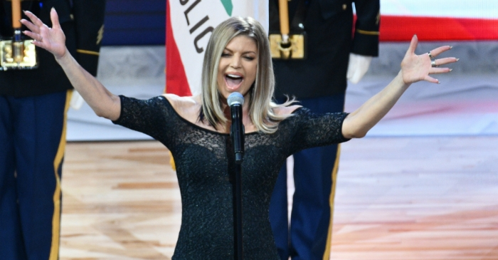 Fergie speaks out after receiving a tidal wave of criticism for her sexy rendition of the national anthem