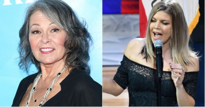 For someone who totally butchered the National Anthem, Roseanne Barr sure had a lot of opinions about Fergie's performance