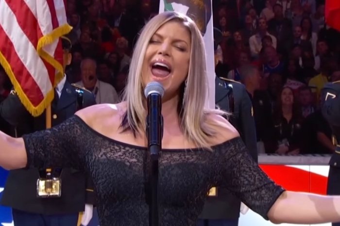 Fergie's rendition of the national anthem even had a Kardashian asking WTF was going on