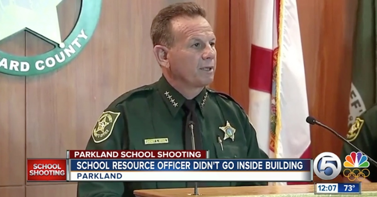 Scott Israel Broward County Sheriff Rep. Bill Hager Marjory Stoneman Douglas High School shooting