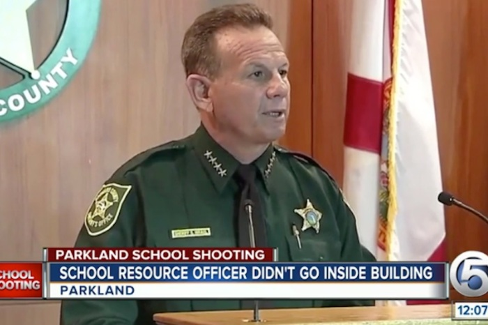 Florida sheriff has responded to calls for his resignation after the school shooting