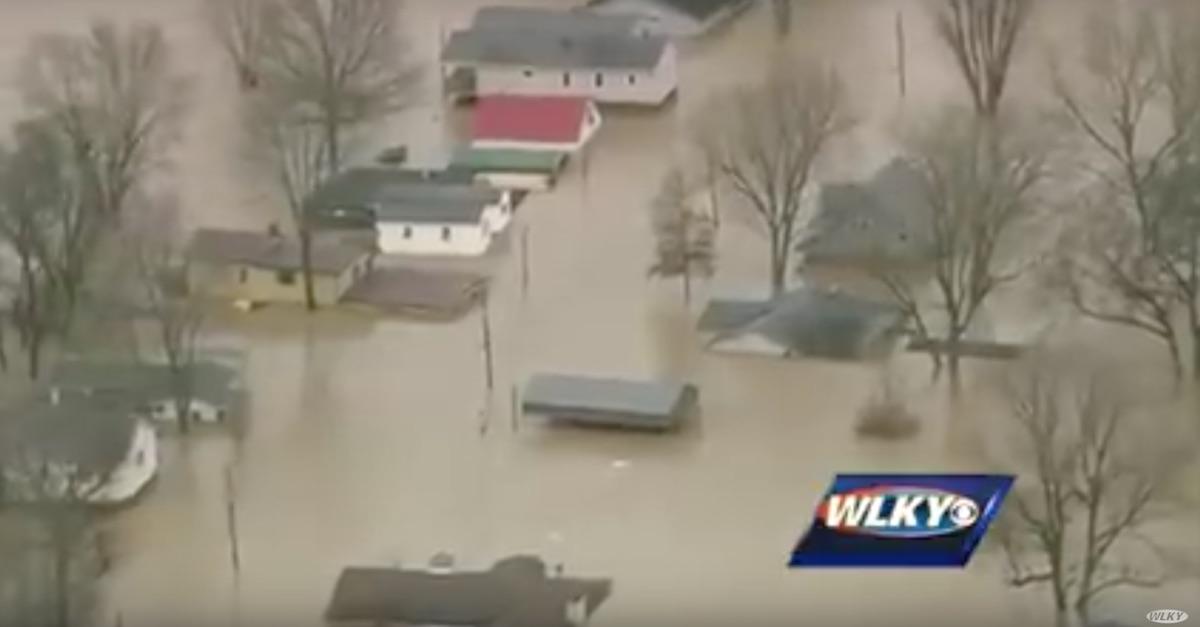 flooding weather Ohio River Indiana Kentucky