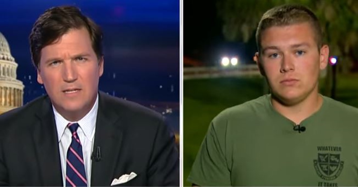 Florida shooting survivor Colton Haab takes his battle with CNN to Fox News
