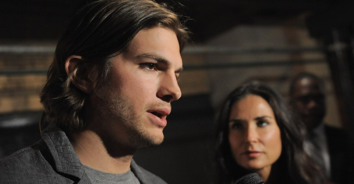 Ashton Kutcher reveals the bizarre thing he did to get over his divorce with Demi Moore