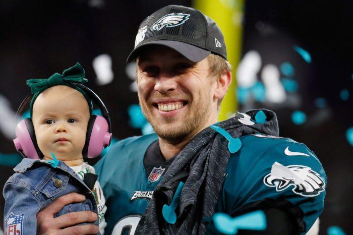 Philadelphia Eagles quarterback Nick Foles' adorable daughter is the real Super Bowl MVP