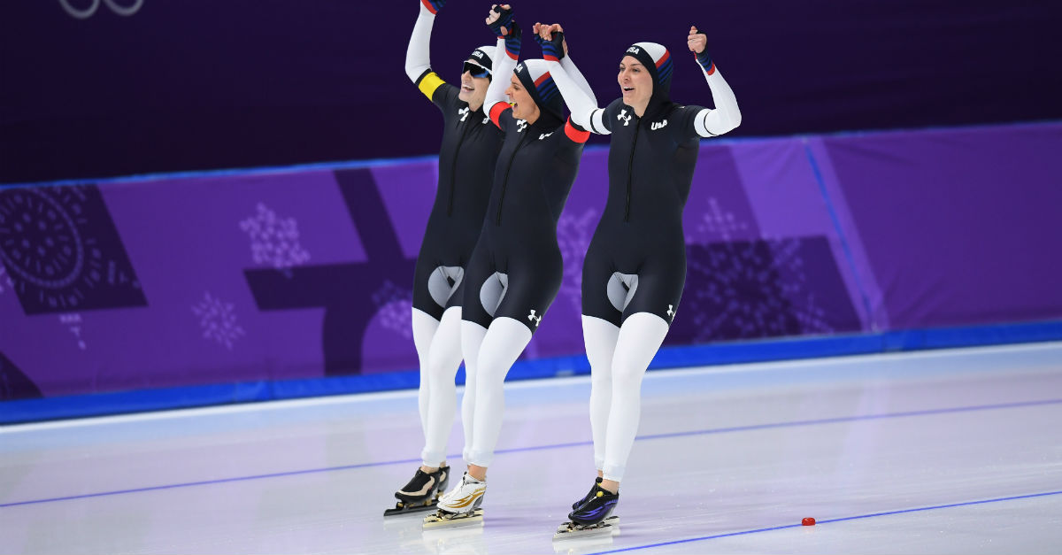 speed skating uniforms olympics 2018