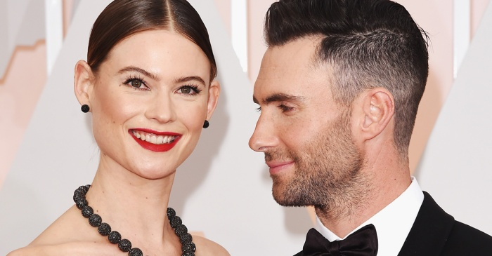 Adam Levine shared one sexy photo of his pregnant wife Behati Prinsloo from their romantic night in