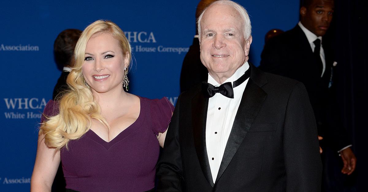 Megan McCain and Senator John McCain