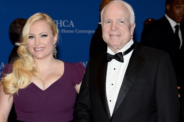 "Meghan McCain opens up about her father's health after a ""rough time"" battling cancer during the holidays"