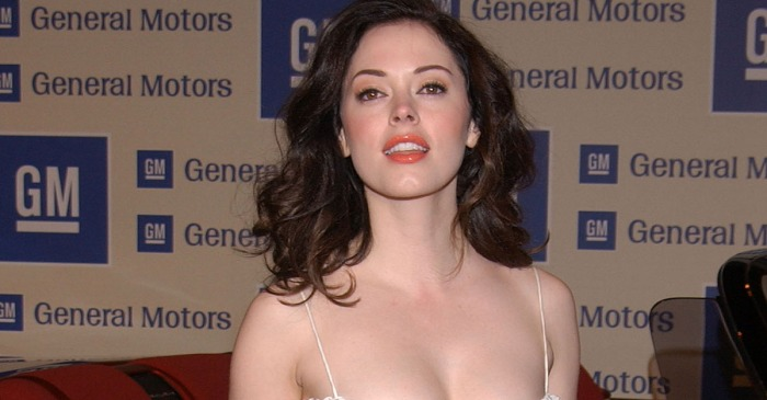 We now know the reason why Rose McGowan wore that iconic naked dress to the 1998 Video Music Awards
