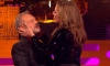 Actress Allison Janney and host Graham Norton