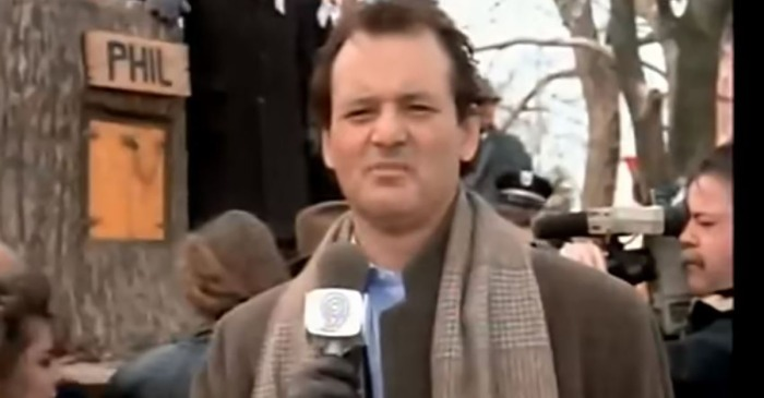 A TV channel just went a bit overboard in their Groundhog's Day celebration
