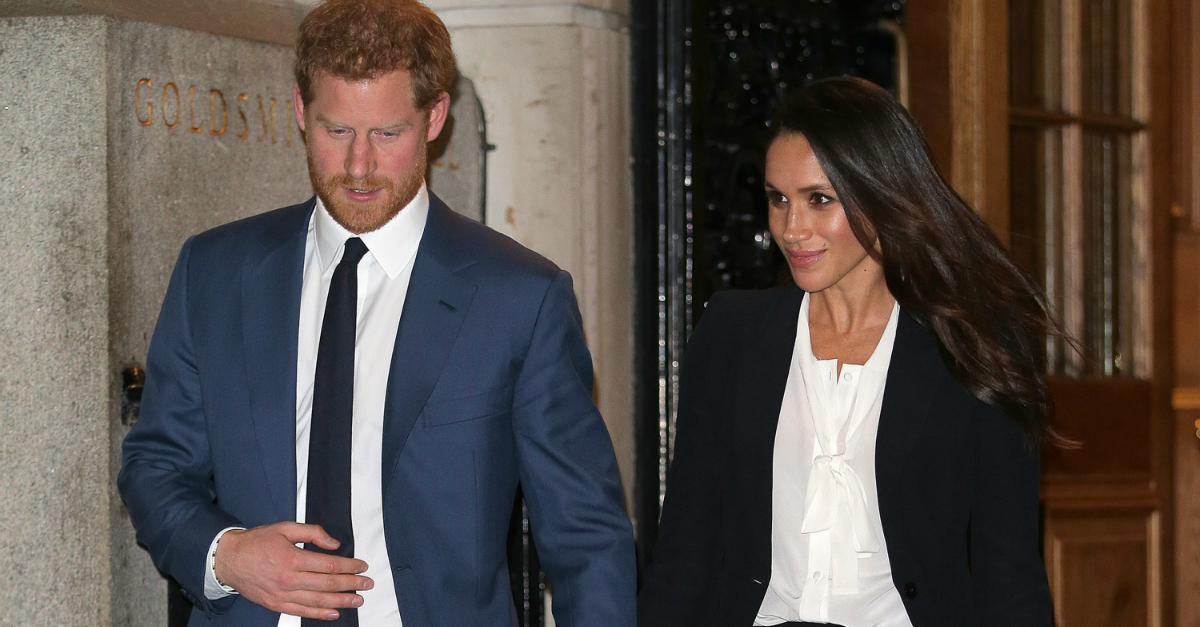 Prince Harry and fiancee Meghan Markle