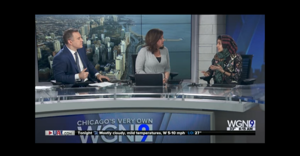Two WGN anchors are being called out for Islamaphobic comments during interview with Muslim fashion blogger