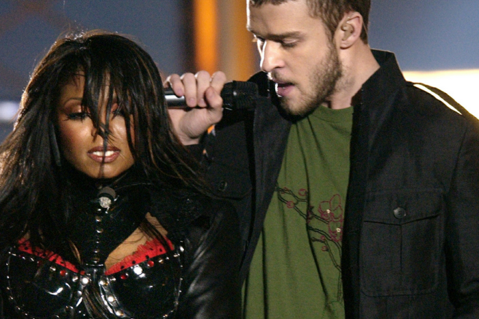 Janet Jackson apparently still isn't over Justin Timberlake flashing her breast to the world