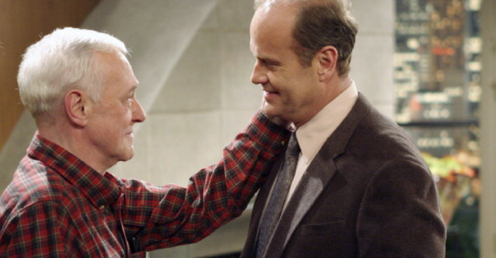"""Frasier"" icon Kelsey Grammer breaks silence on the death of his TV dad"