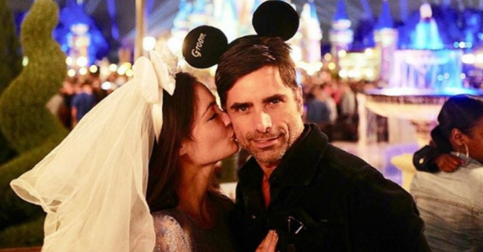 John Stamos takes his pregnant wife Caitlin McHugh on a trip to the most magical place on Earth