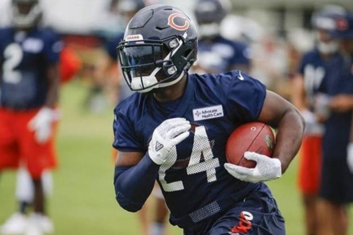 "The Bear's Jordan Howard: ""We're going to get to the playoffs."""