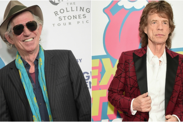 "Keith Richards thinks Mick Jagger is a ""randy old b**tard"" who's too old to be a father"
