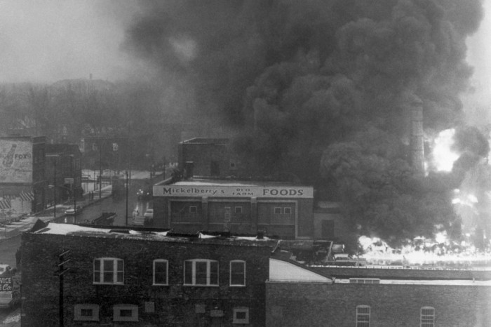 Mickelberry plant fire happened fifty years ago this past Wednesday