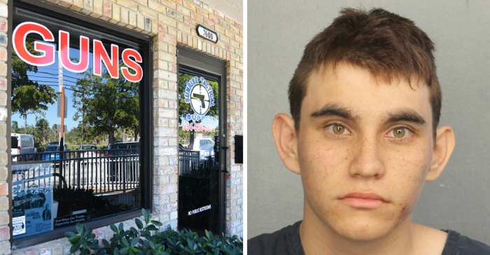 """""""Scared"""" shop owners who sold the Florida school shooter his gun break their silence through attorneys"""