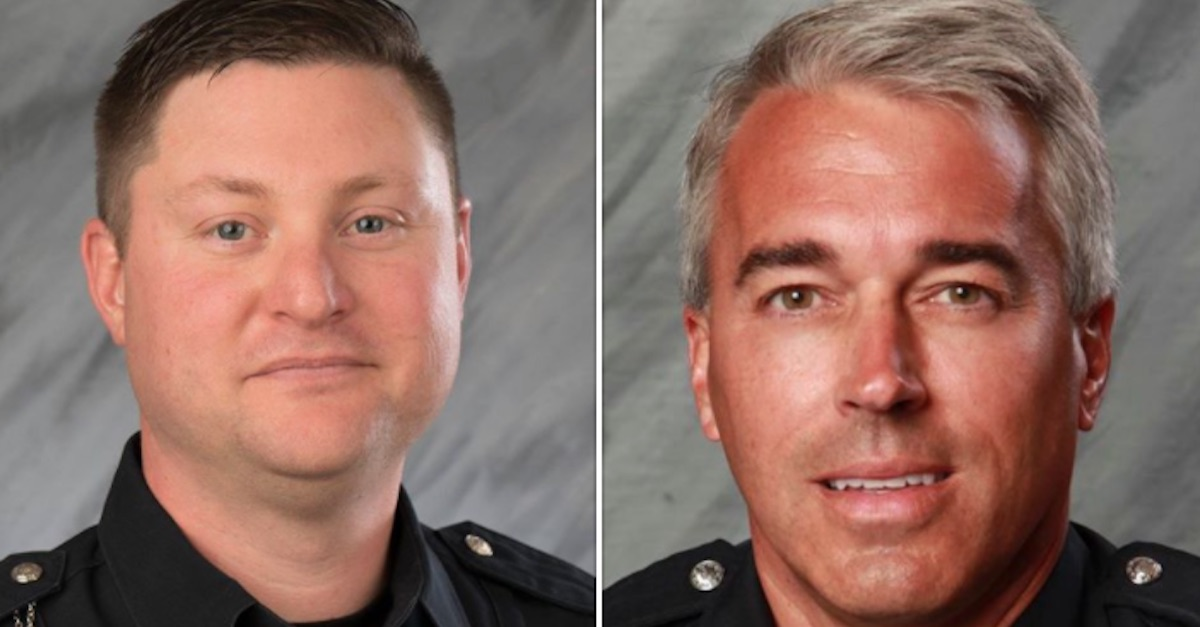 The Ohio police officers shot and killed while responding to a 911 call have been identified